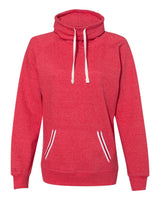 Wide Neck Sweatshirt for Ladies