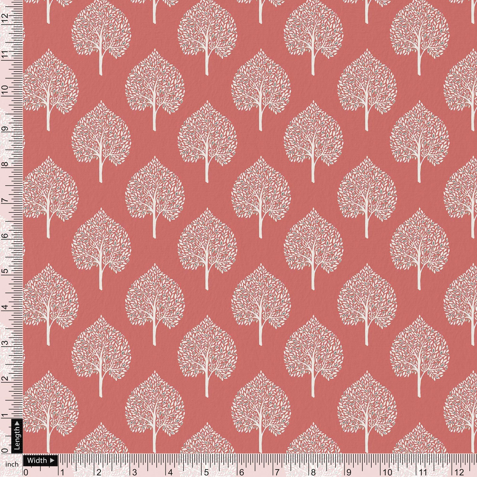 Seamless Leaves Design Printed Fabric - FAB VOGUE Studio. Shop Fabric @ www.fabvoguestudio.com