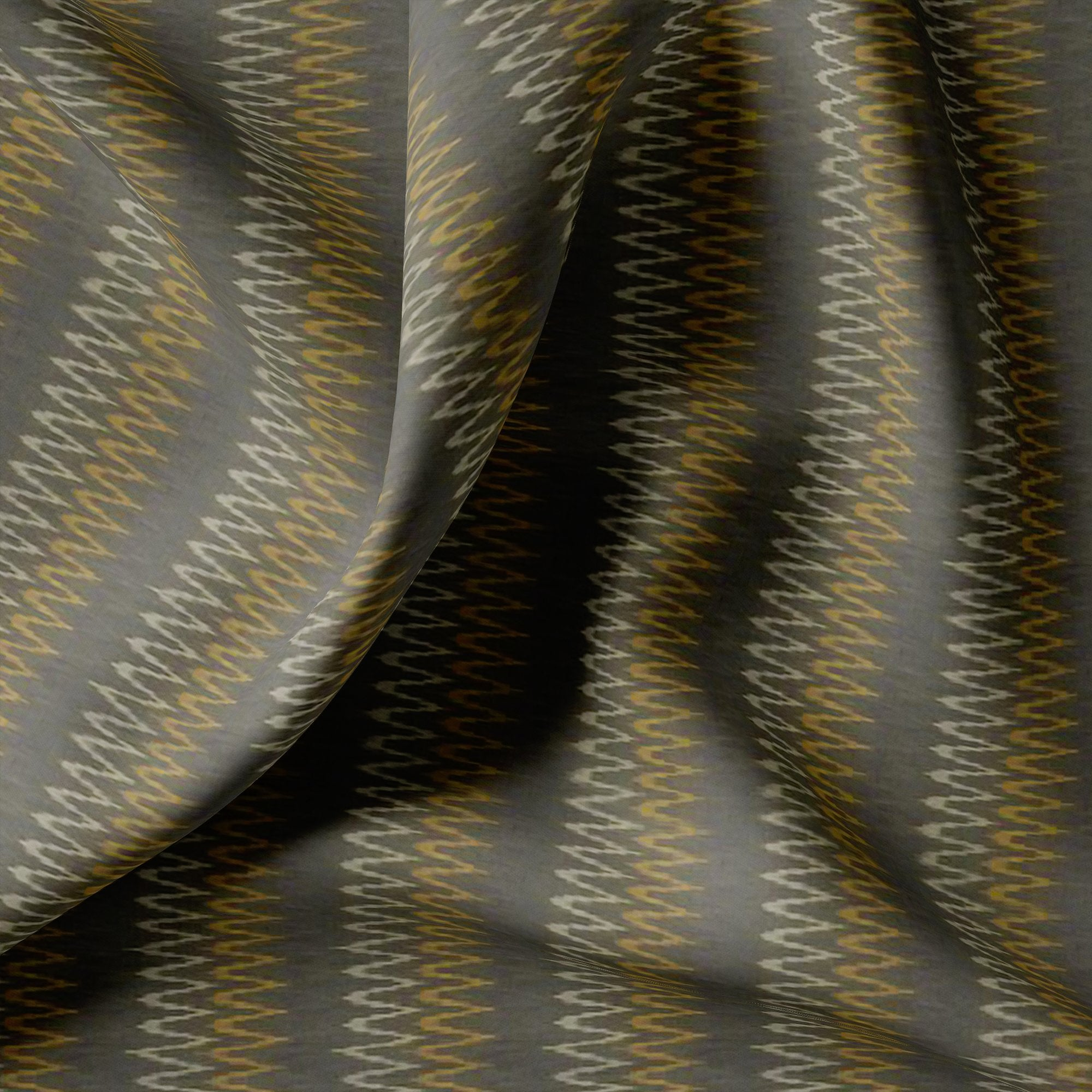 Cheveron Design Digital Printed Fabric - FAB VOGUE Studio. Shop Fabric @ www.fabvoguestudio.com