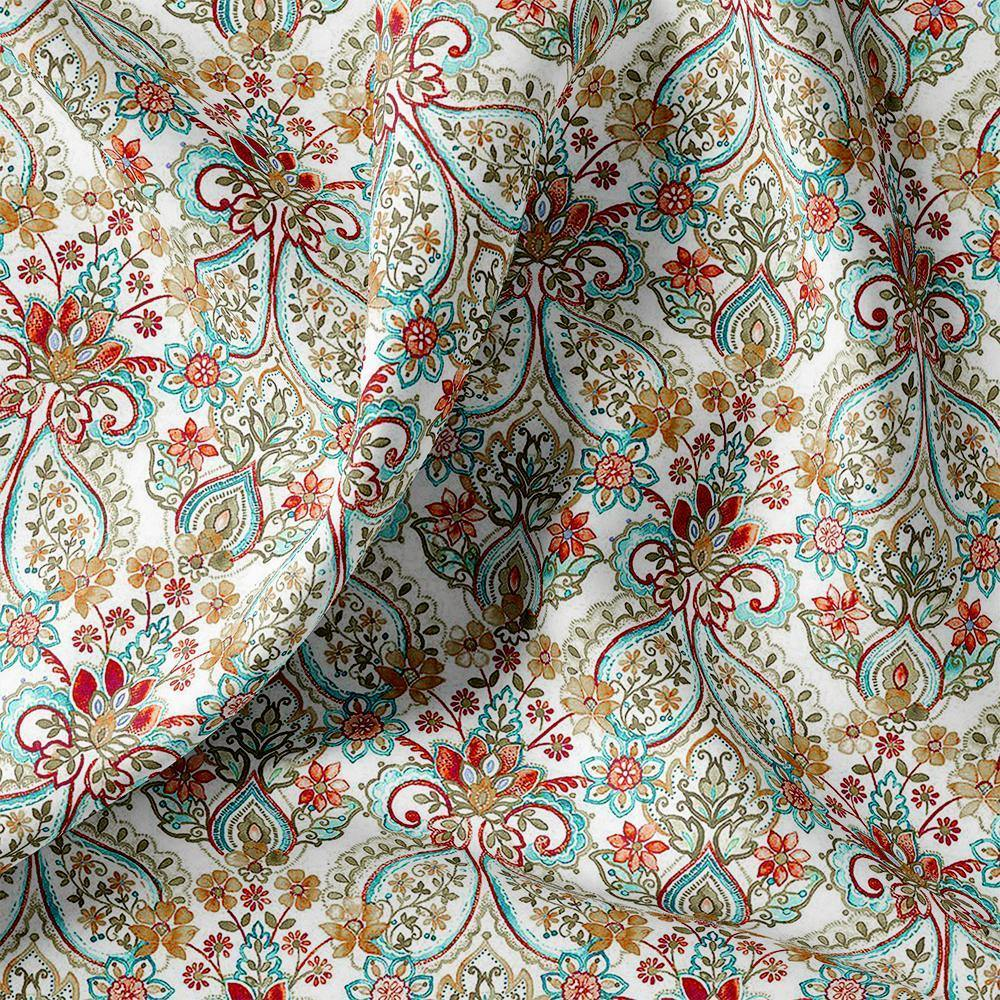 Indian Traditional Motif Digital Printed Fabric - FAB VOGUE Studio. Shop Fabric @ www.fabvoguestudio.com