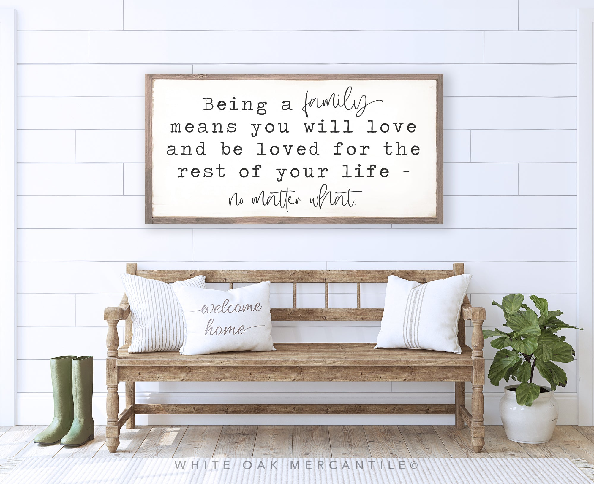 Being a Family Sign
