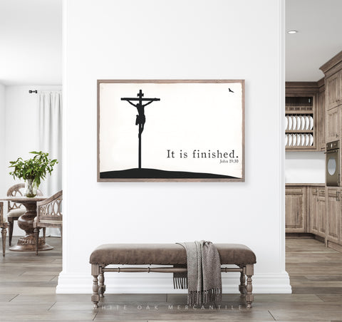John 19:30 - It Is Finished Sign