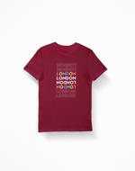 London Multicolour Tee - 52 Twelve Apparel