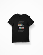 Quebec Multicolour Tee - 52 Twelve Apparel
