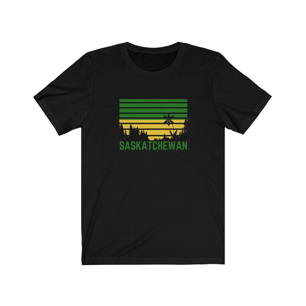 Saskatchewan Flag Tee - 52 Twelve Apparel