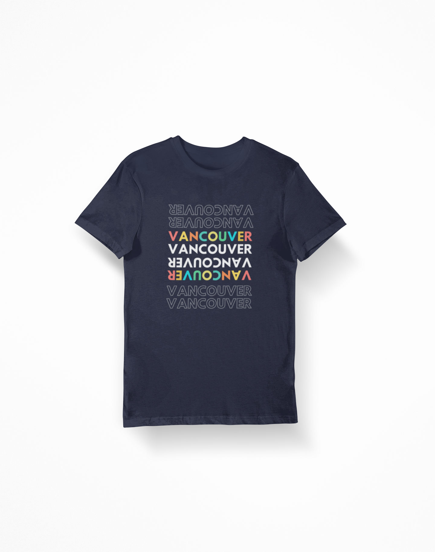 Vancouver Multicolour Tee - 52 Twelve Apparel