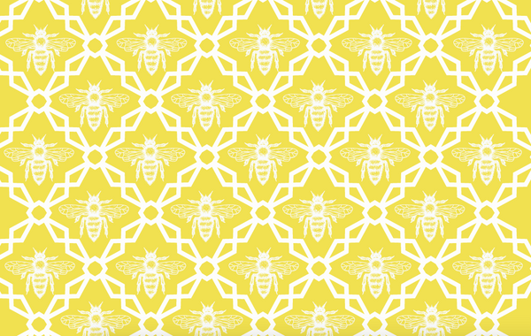 Melissa Bee Paper Placemat
