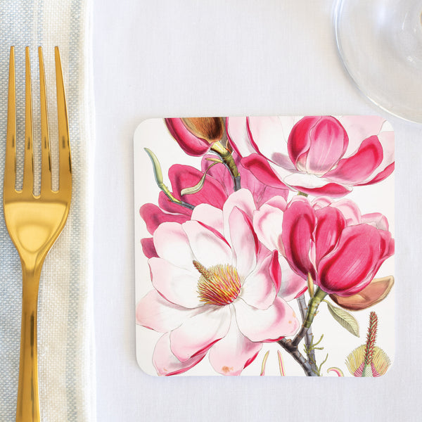 Campbell's Magnolia Coaster (set of 24) in Gift Box