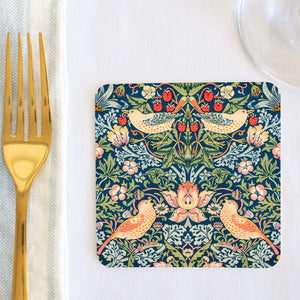 Strawberry Thief Coaster (set of 24) in Gift Box