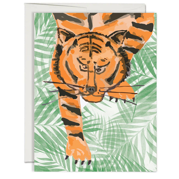 Tiger Folded Notecard