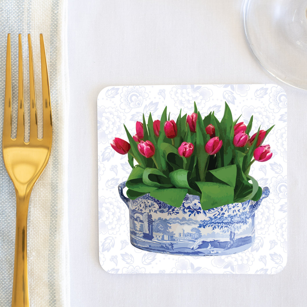 Tulip Coaster Set