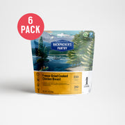 Freeze-Dried Cooked Chicken 6 Pack