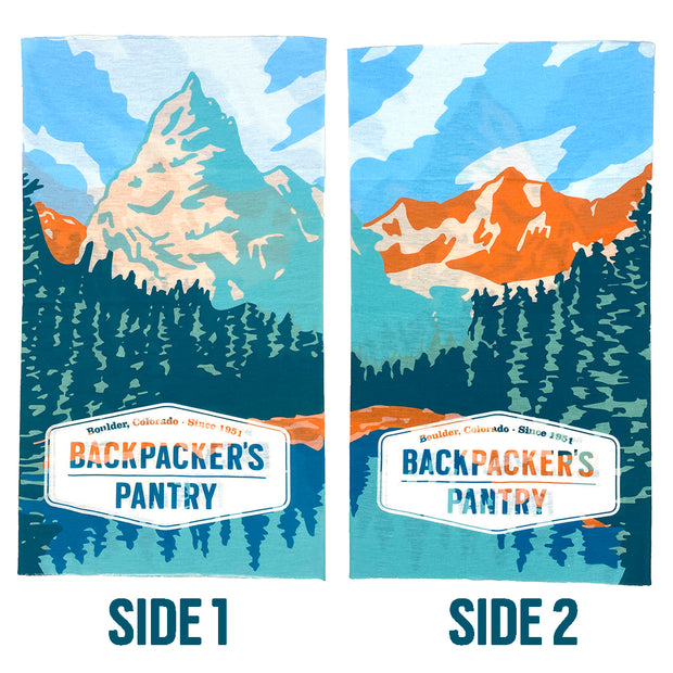 Eagle Peak Face Mask Side 1 & 2 - Backpacker's Pantry