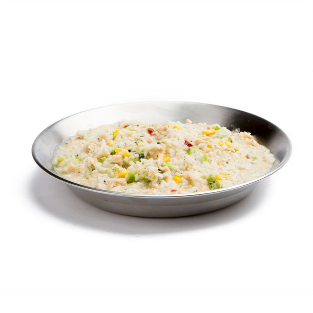 Risotto with Chicken Prepared