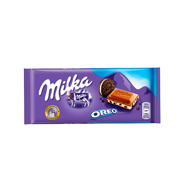 Chocolate Milka de Oreo