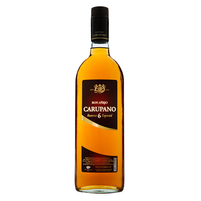 Ron añejo carúpano 750 ml