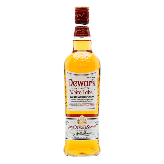 Whiskey dewars white label 1 lt