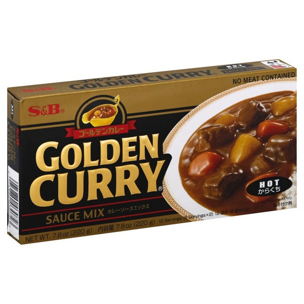 "Curry golden en pasta Karakuchi ""S&B"" 220 gr."