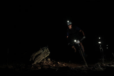 Night riding lights mountain bike gravel touring cyclocross Off Road Bikes Online ORBO Australia