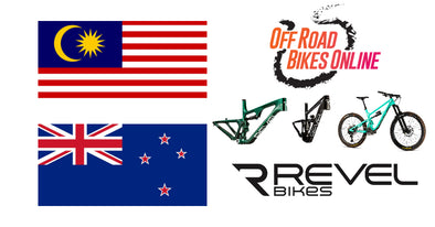 Revel Bikes now shipping to Malaysia and New Zealand through Off Road Bikes Online!