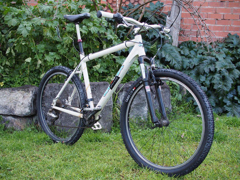 Old school mountain gravel bike ready for conversion Off Road Bikes Online ORBO Australia