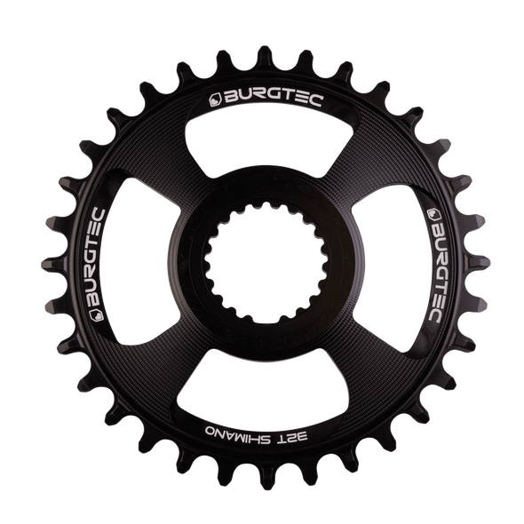 Burgtec Thick-Thin Chainring Shimano Direct