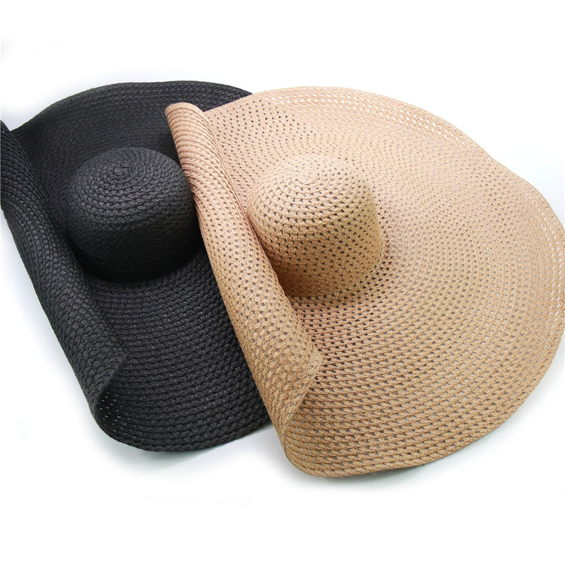 Oversized Straw Hat - Veluptuous Swim
