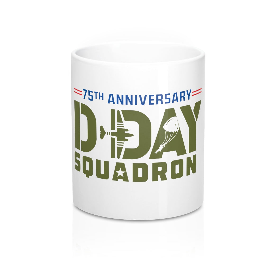 Official D-day Squadron 75th Anniversary Mug 11oz