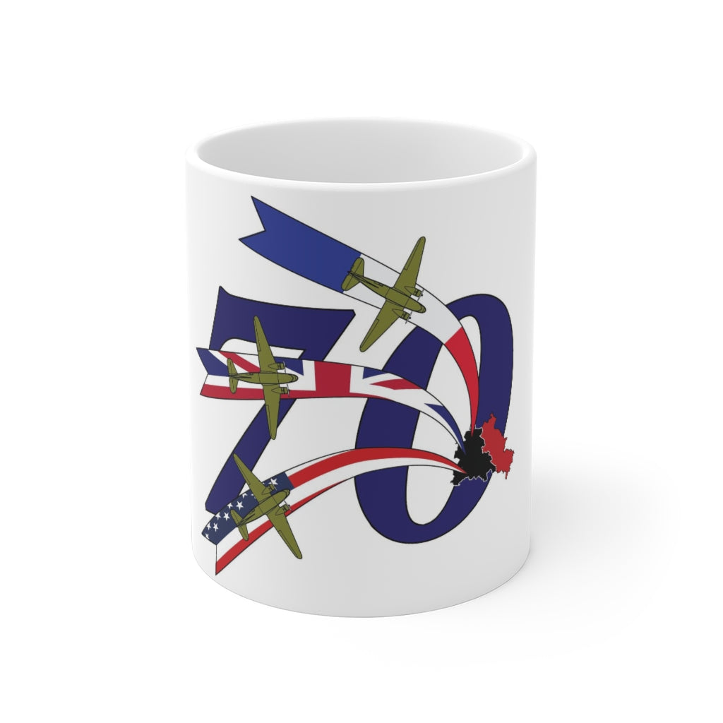 BERLIN AIRLIFT 70TH ANNIVERSARY MUG 11oz