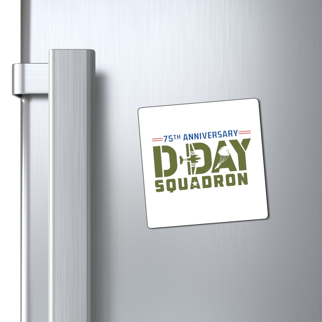 D-day Squadron Magnet