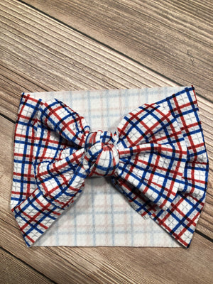 Patriotic Plaid Dixie