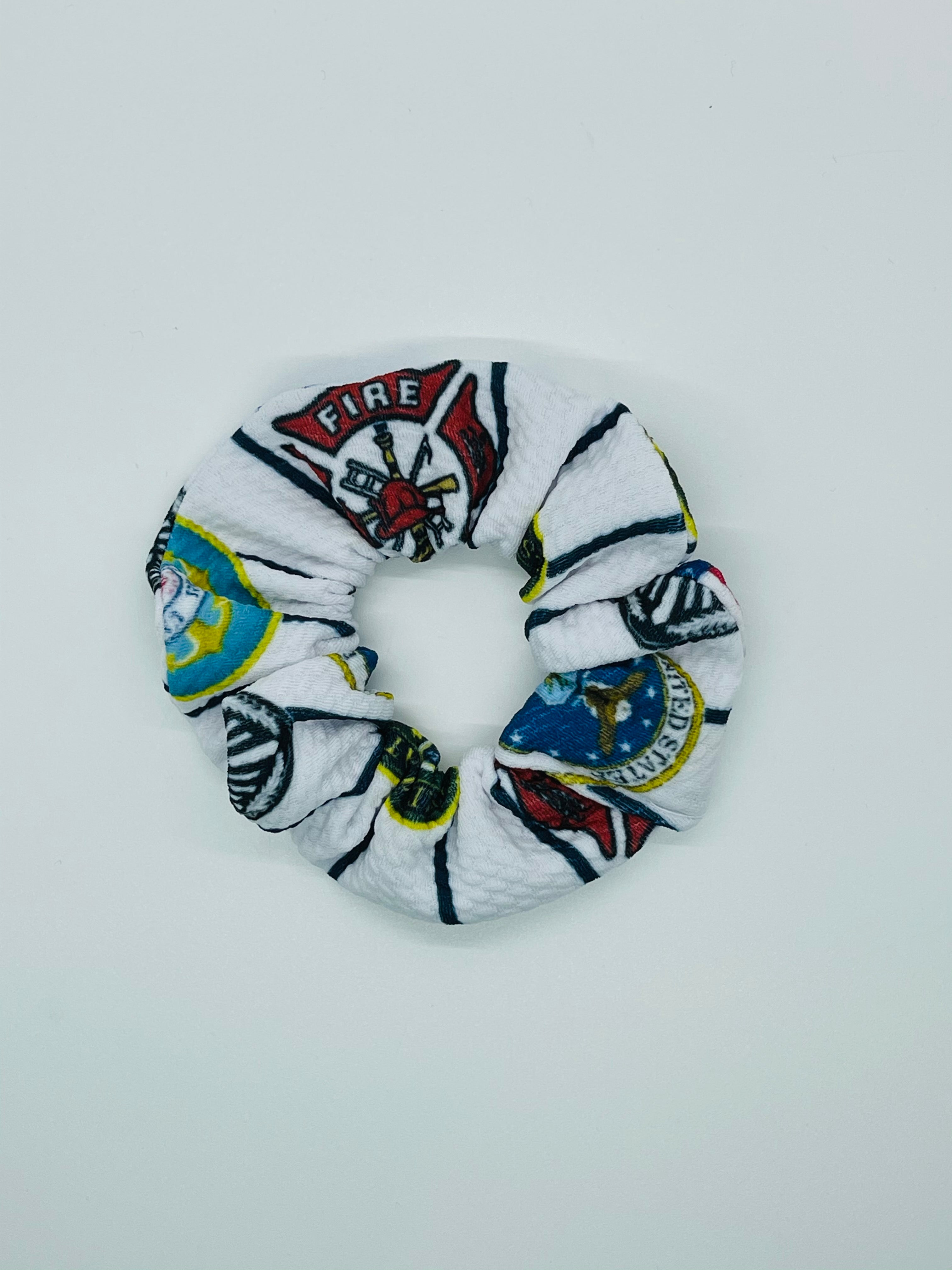 First Responder Dixie Scrunchie