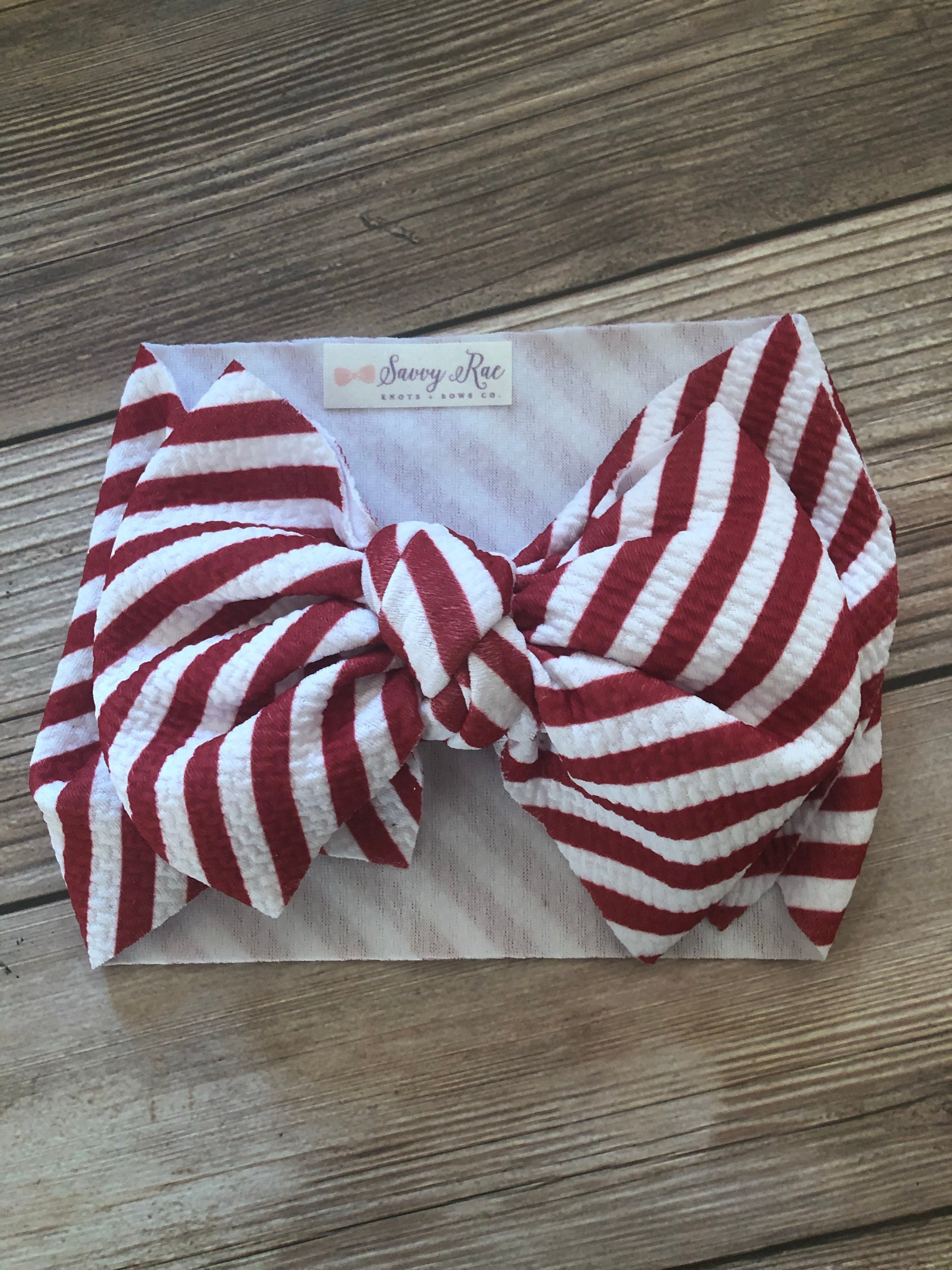 Red and White Striped Dixie