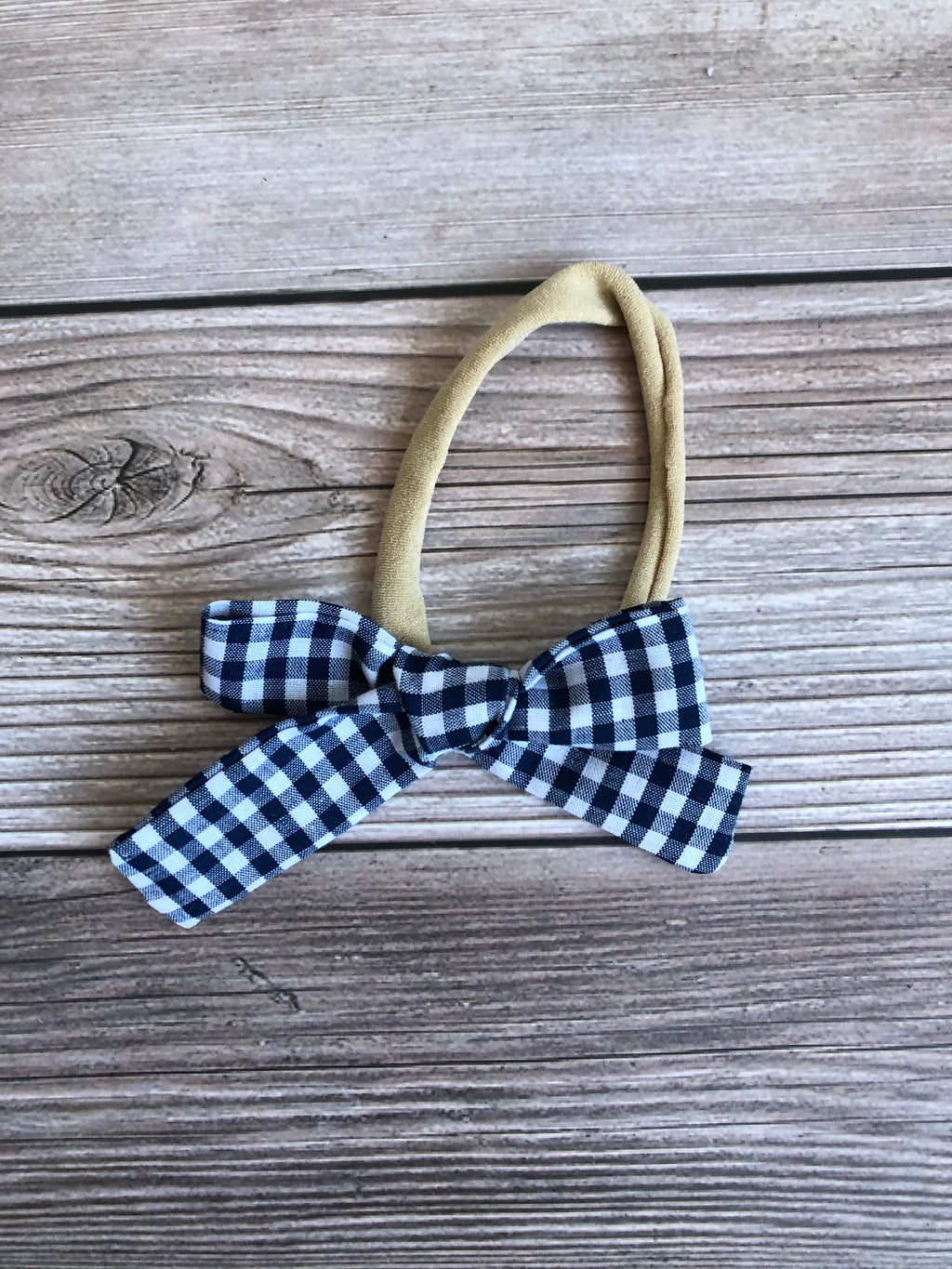 Navy Gingham Kate