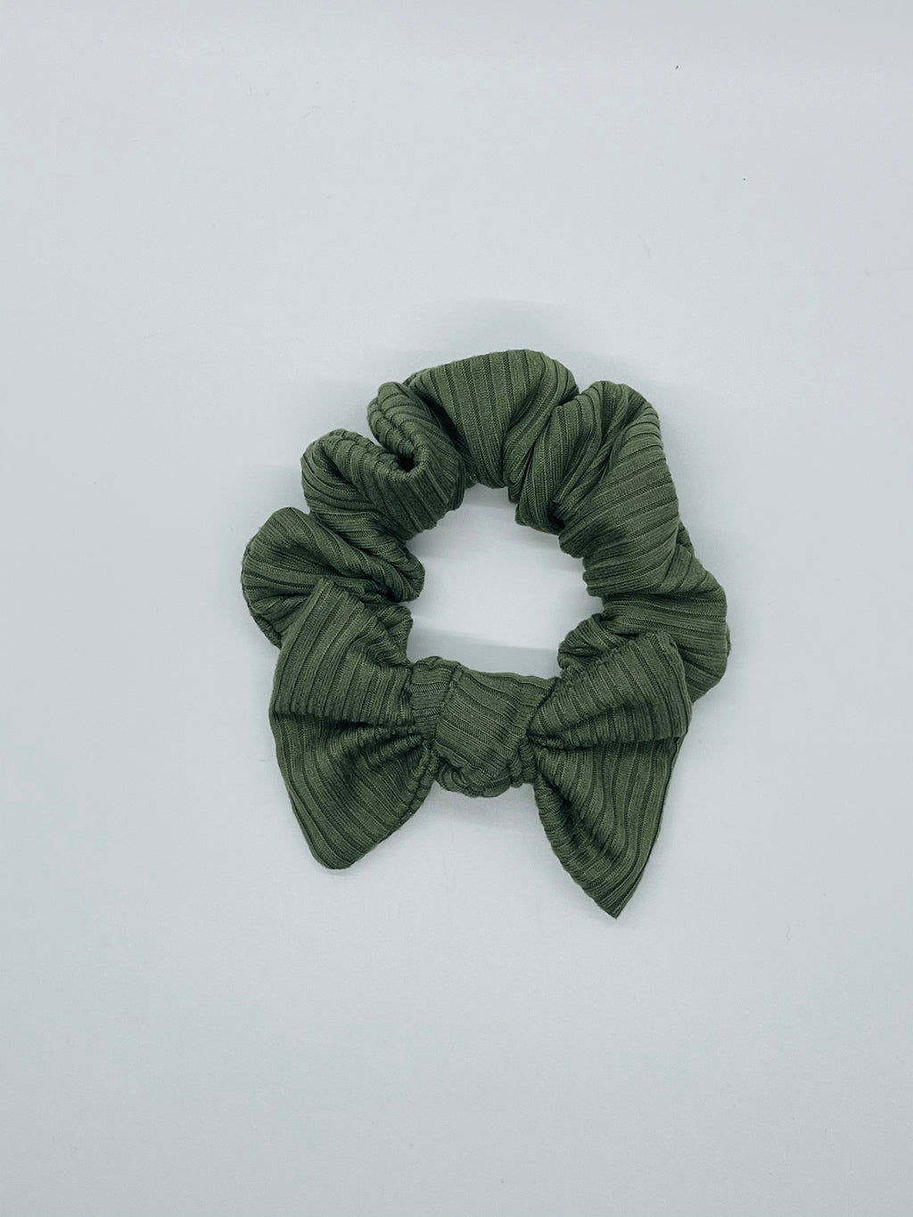 Army Ribbed Scrunchie