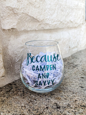 Custom Wine Glass