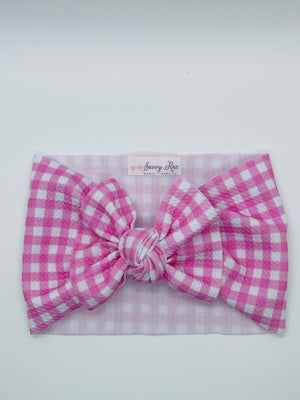 Pink Gingham Dixie