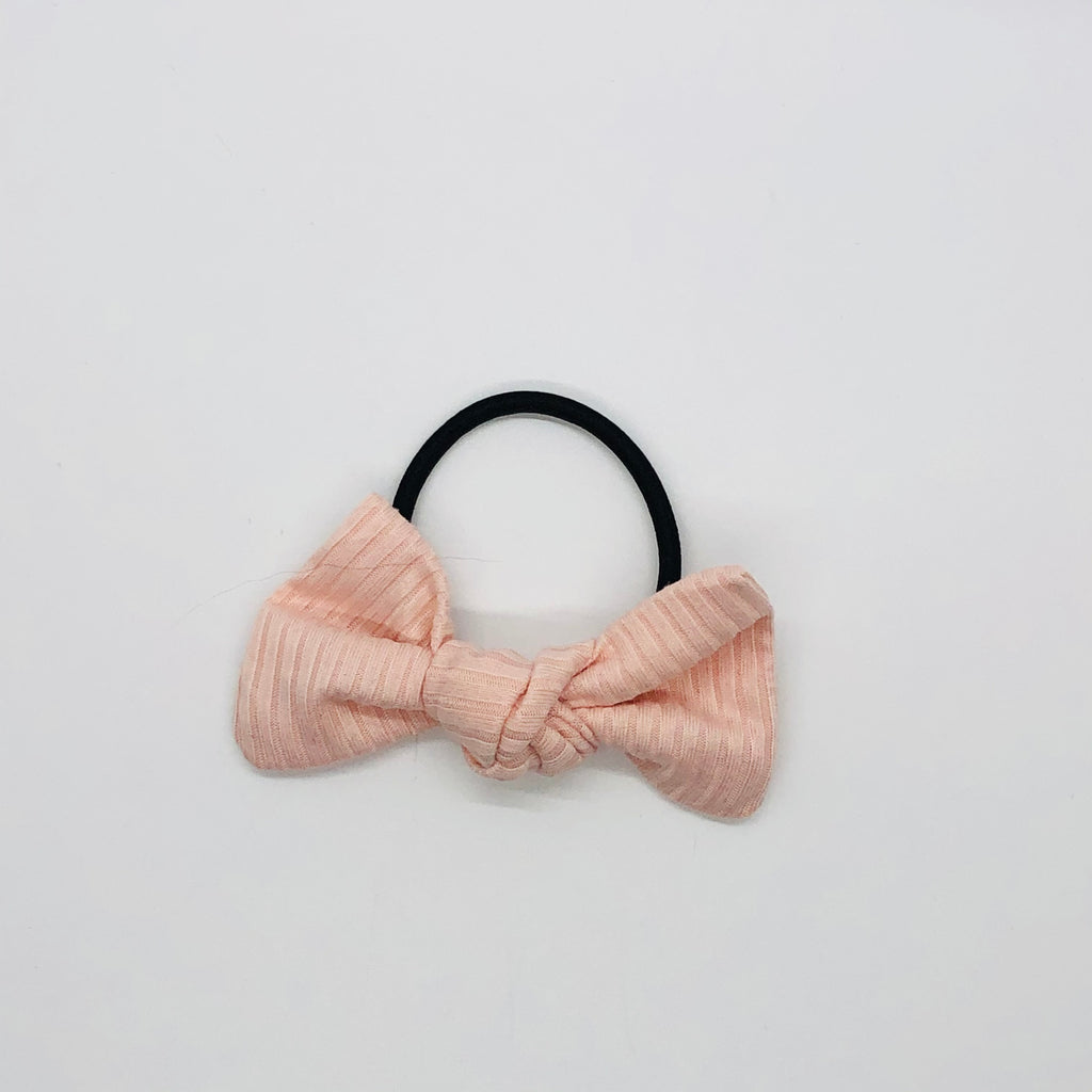 Pink Ribbed Kate Knot