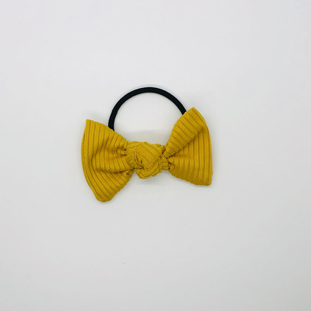 Yellow Ribbed Kate Knot