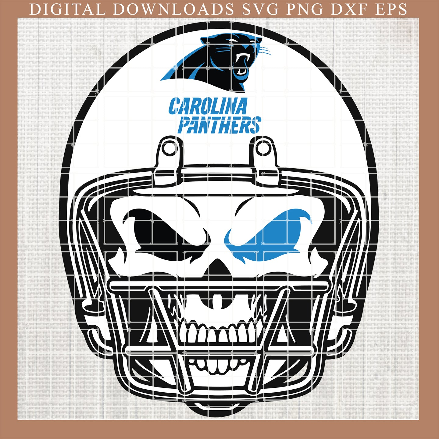 Carolina panthers svg, skull svg, fueled by svg , panthers svg,  NFL, Fingerprints, DNA