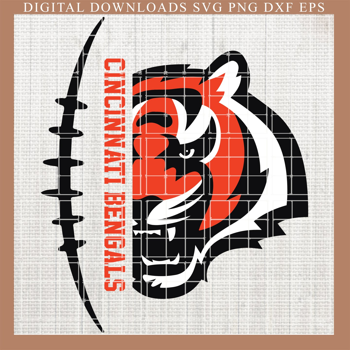 Cincinnati Bengals svg, skull svg, fueled by svg , Bengals svg, NFL , Fingerprints, DNA