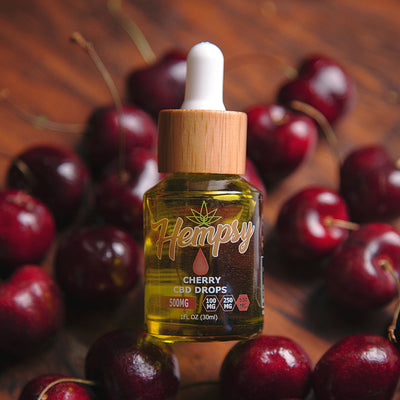 CBD Cherry Drops