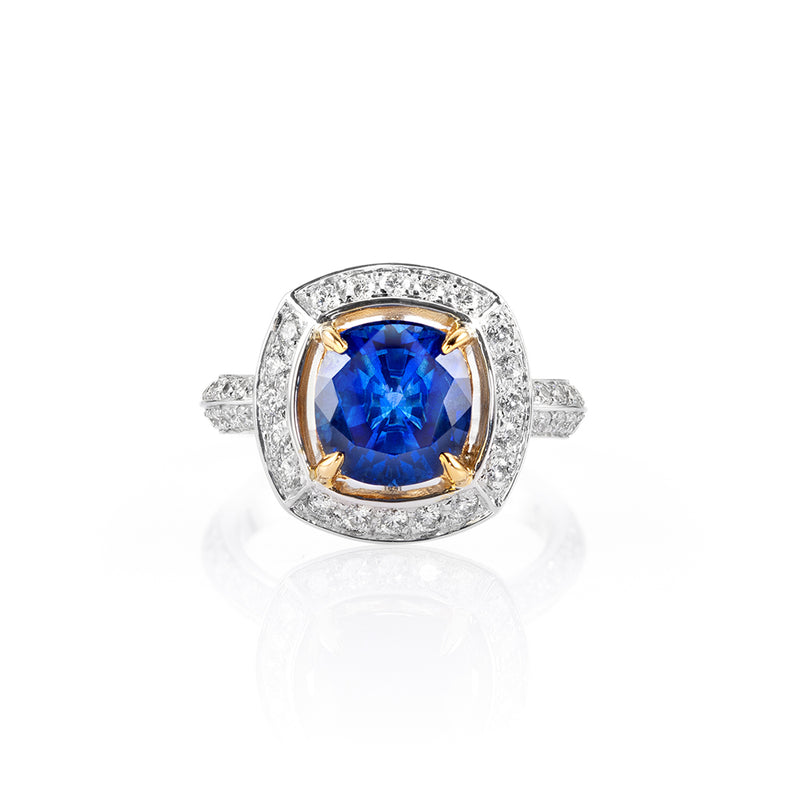 Galle Lights Sapphire Ring