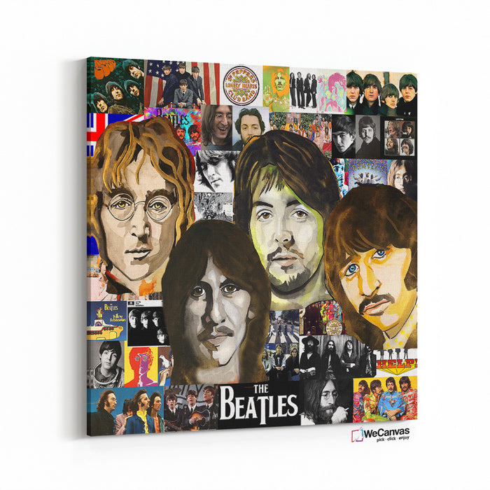 Beatles Pop Collage II