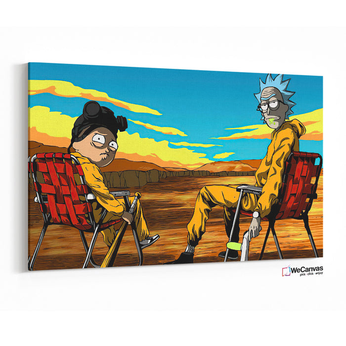 Rick y Morty como Breaking Bad