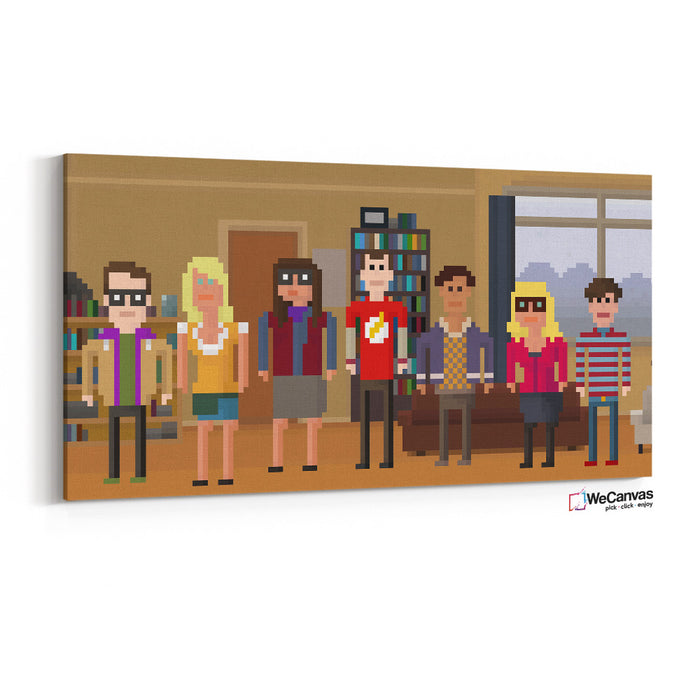 The Big Bang Theory Pixel