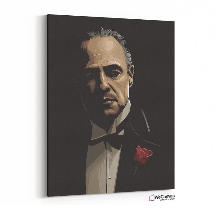 The Godfather Illustration