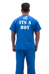 Scrubs for Dads - Royal Blue