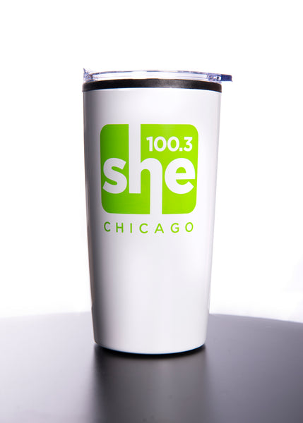 SHE 100.3 Travel Mug