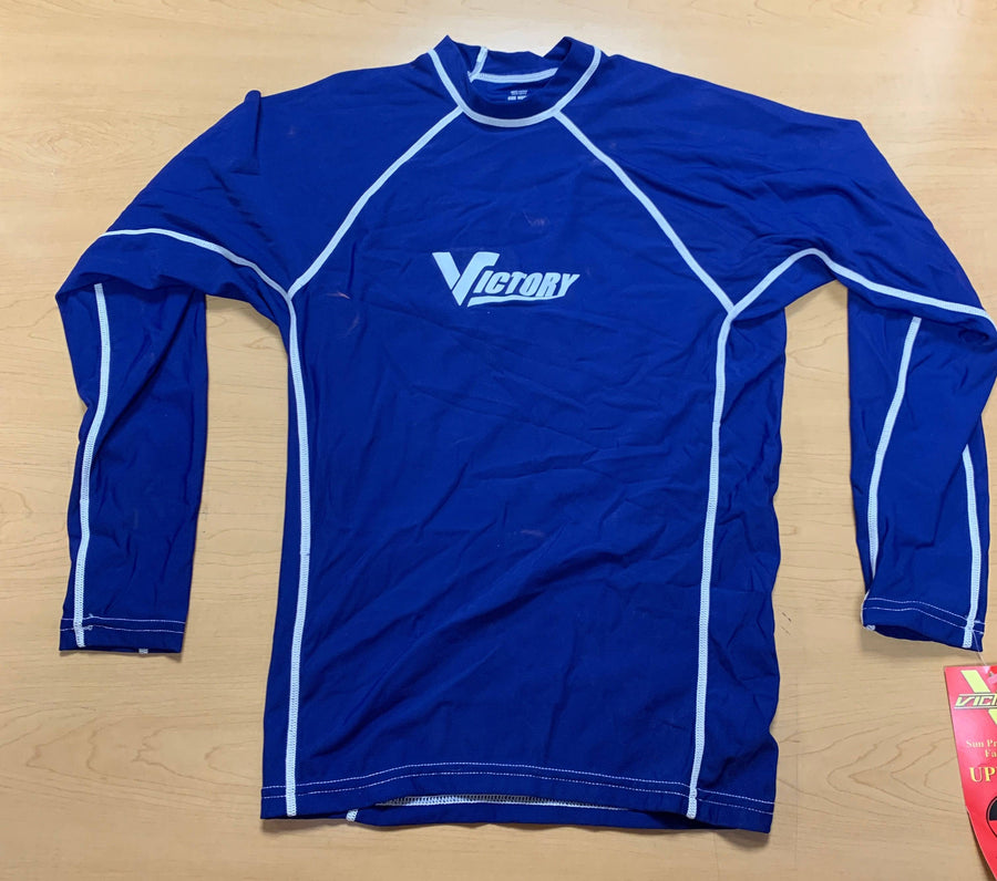 Victory Mens Medium Long Sleeve Rashguard/ CLEARANCE